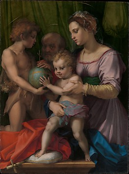 The Holy Family with the Young Saint John ...