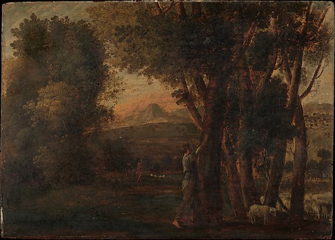 Landscape with Erminia