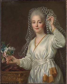 Portrait of a Young Woman as a Vestal Virgin