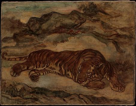 Tiger in Repose