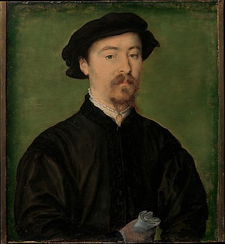 Portrait of a Man with Gloves