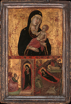 Madonna and Child with the Annunciation an...