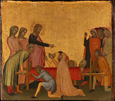 Saint John the Evangelist Raises Satheus t...