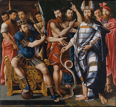 Moses and Aaron before Pharaoh: An Allegor...