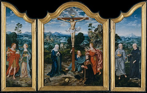 The Crucifixion with Saints and a Donor