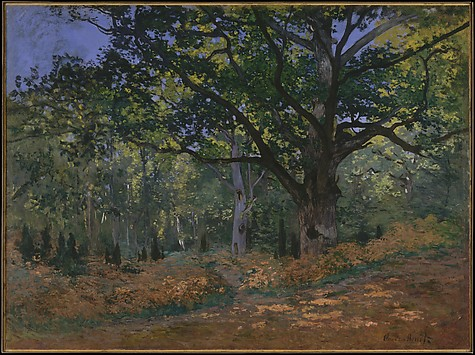 The Bodmer Oak, Fontainebleau Forest