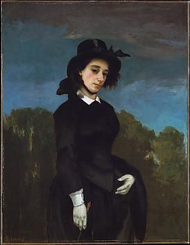 Woman in a Riding Habit (L'Amazone)