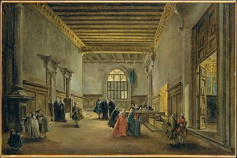 The Antechamber of the Sala del Maggior Co...