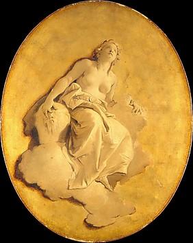 A Female Allegorical Figure