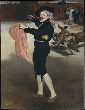 Mademoiselle V. . . in the Costume of an E...