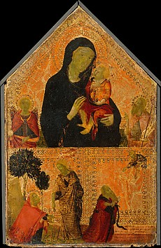 Madonna and Child with Saints Michael and ...