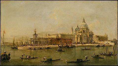 Venice: The Dogana and Santa Maria della S...