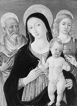 Madonna and Child with Saints Jerome and M...