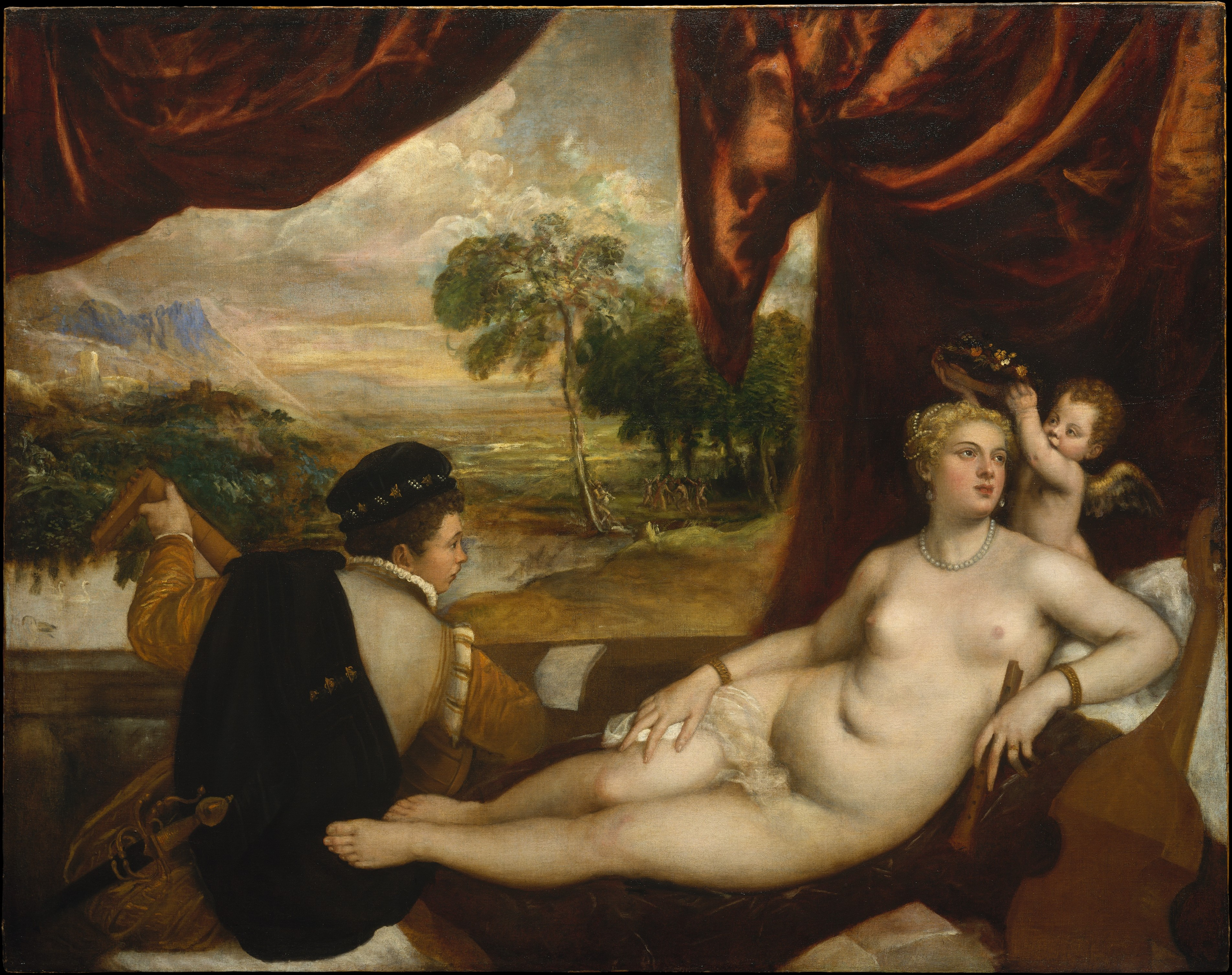 Venus and the lute player. Nude art in the Renaissance.
