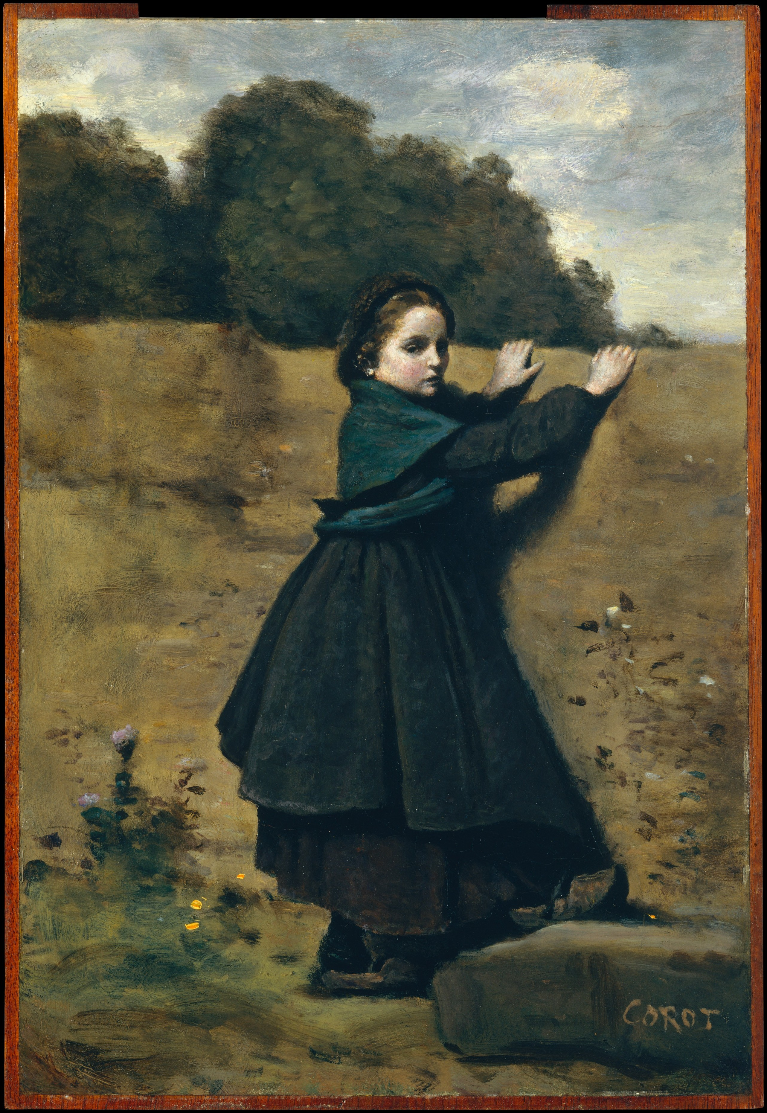 Too much art camille corot 1796 1875 the curious for Camille corot