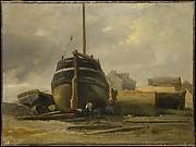 Shipyard at Le Havre