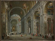 Interior of Saint Peter&#39;s, Rome