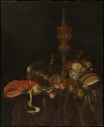 Still Life with Lobster and Fruit