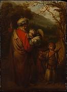 Abraham Dismissing Hagar and Ishmael