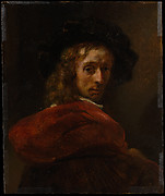 Man in a Red Cloak