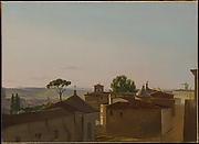 View on the Quirinal Hill, Rome
