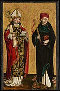 A Bishop Saint and Saint Procopius