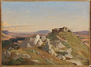 Landscape at Olevano
