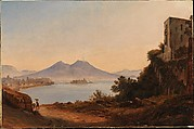 The Bay of Naples with Vesuvius and Castel dell'Ovo