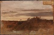 Dusk, Monte Mario, Rome
