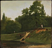 Banks of the Stream near the Corot Property, Ville d'Avray