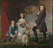 Thomas (1740–1825) and Martha Neate (1741–after 1795) with His Tutor, Thomas Needham