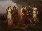 Telemachus and the Nymphs of Calypso