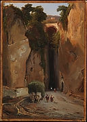 Entrance to the Grotto of Posilipo