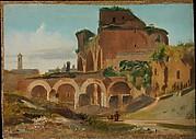 The Basilica of Constantine, Rome
