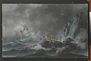 A Shipwreck during a Tempest