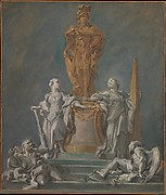 Study for a Monument to a Princely Figure