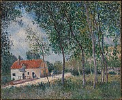 The Road from Moret to Saint-Mammès