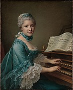 Portrait of a Woman, Said to be Madame Charles Simon Favart (Marie Justine Benoîte Duronceray, 1727–1772)