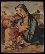 Madonna Adoring the Child