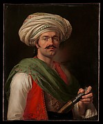 Portrait of a Mameluke, said to be Roustam Raza (ca. 1781–1845)
