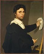 Ingres (1780–1867) as a Young Man