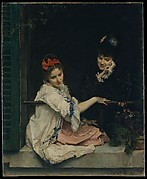 Girls at a Window