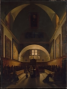 The Choir of the Capuchin Church in Rome