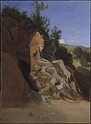 Landscape with a Cave
