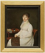 Portrait of a Woman with Tapestry Work
