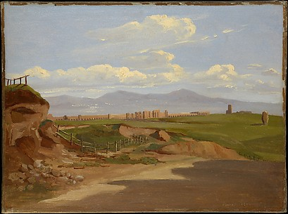 View in the Roman Campagna