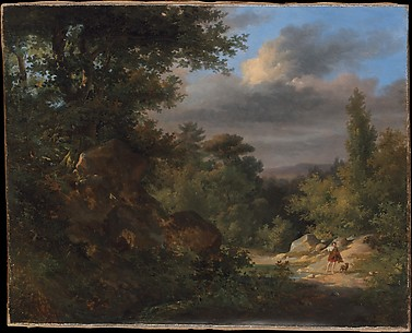 Landscape with a Shepherd