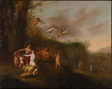 Bacchus and Nymphs in a Landscape