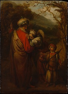 Abraham Dismissing Hagar and Ishmael