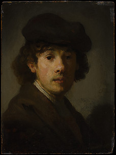 Rembrandt (1606–1669) as a Young Man